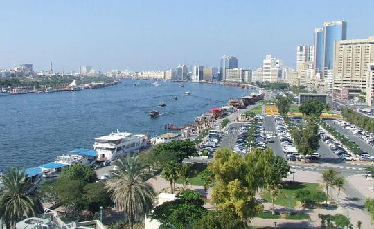 Dubaï Creek: à la croisée des époques