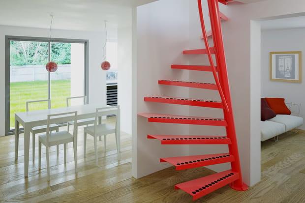 Un escalier dans un mètre carré