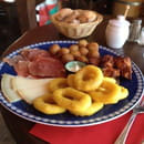 Restaurant : Sagarra  - Assiette de tapas -