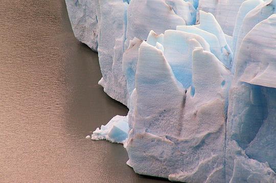 Un glacier qui avance