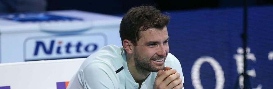 Masters de Londres: Dimitrov vainqueur en finale face à Goffin