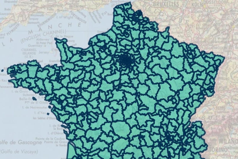 carte des circonscriptions législatives Circonscriptions : une carte pour savoir quelle est votre