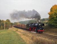 Un train à travers : L'Allemagne