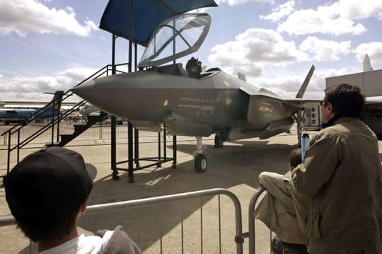 Salon du Bourget 2017: le chasseur F-35américain, star de l'événement