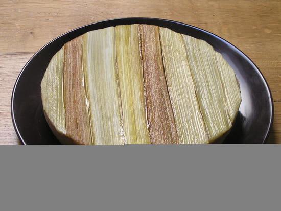 Dessert : Le Colimaçon  - TARTE RHUBARBE -   © BULET MAGALI