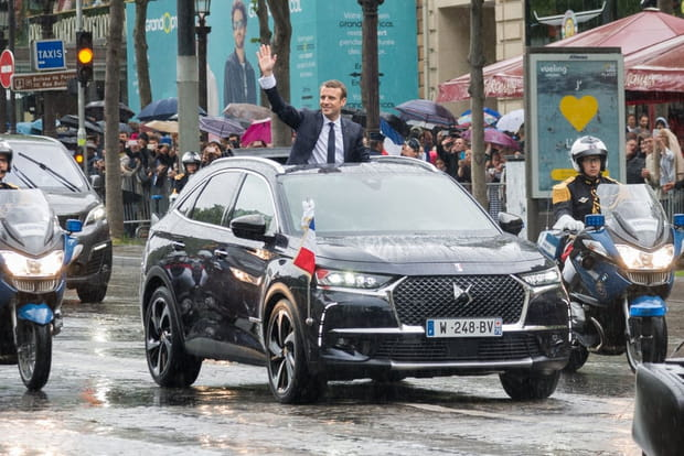 DS7 Crossback, l'autre star de l'investiture de Macron