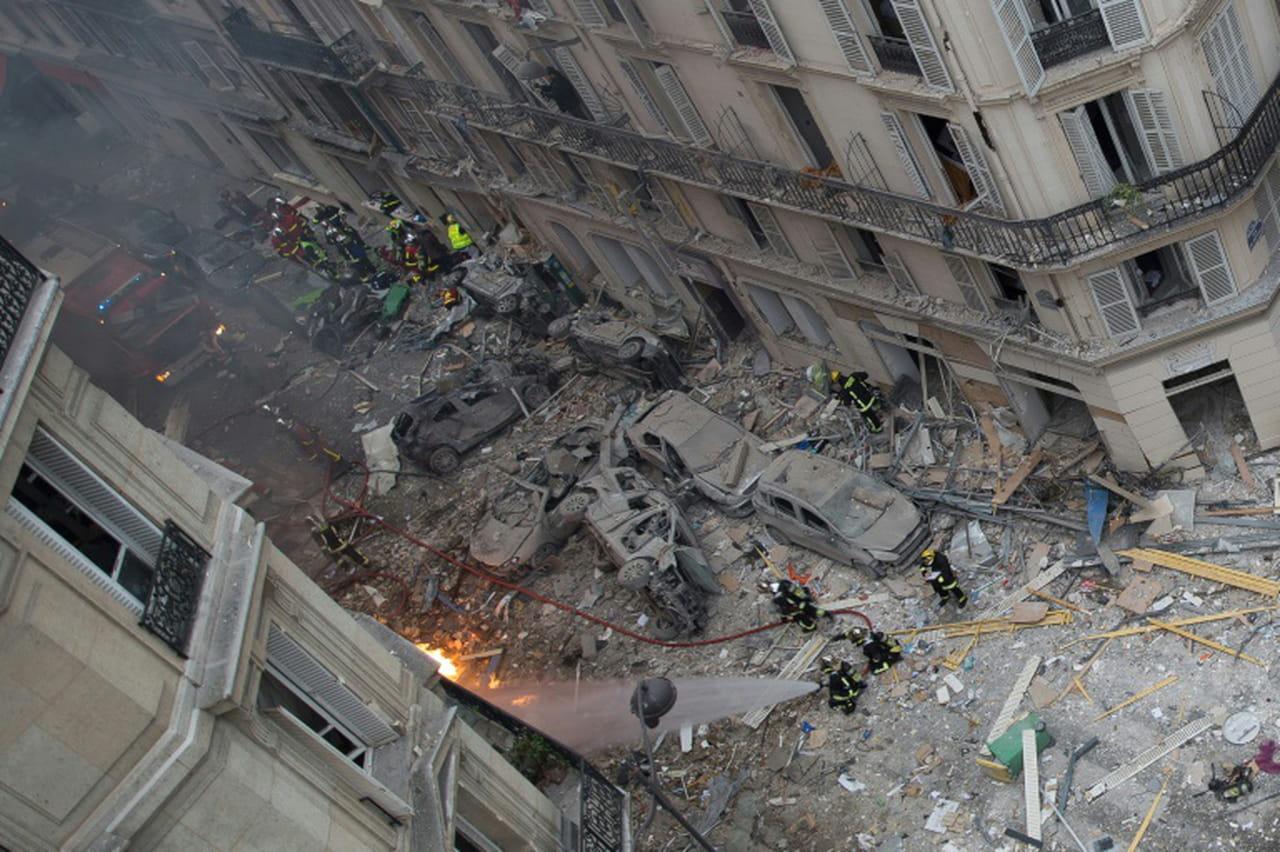 Explosion: une personne retrouvée sous les décombres, le bilan s'élève à 4morts selon le parquet de Paris