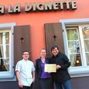 La Vignette  - L'obtention du titre de Maître-Restaurateur en décembre 2011 -   © La Vignette