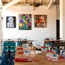 Restaurant : Le Jardin des Sablons  - Salle climatisée du restaurant Le Jardin des Sablons à Portiragnes -   © Les Sablons