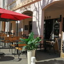 Restaurant : L 'Ardoise  - terrasse -   © L'ARDOISE LR