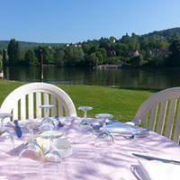 Restaurant : Le Coq au Vin  - terrasse exterieur -   © 4