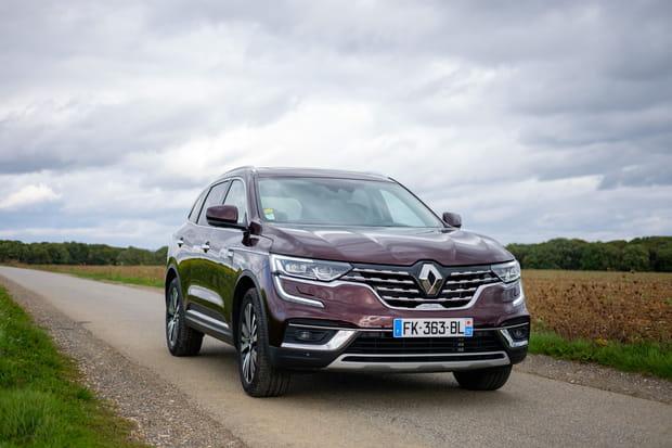 Le Renault Koleos restylé passe par la case essai