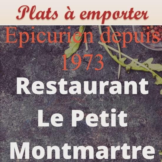 Restaurant : Le Petit Montmartre  - Plats à emporter -   © oui