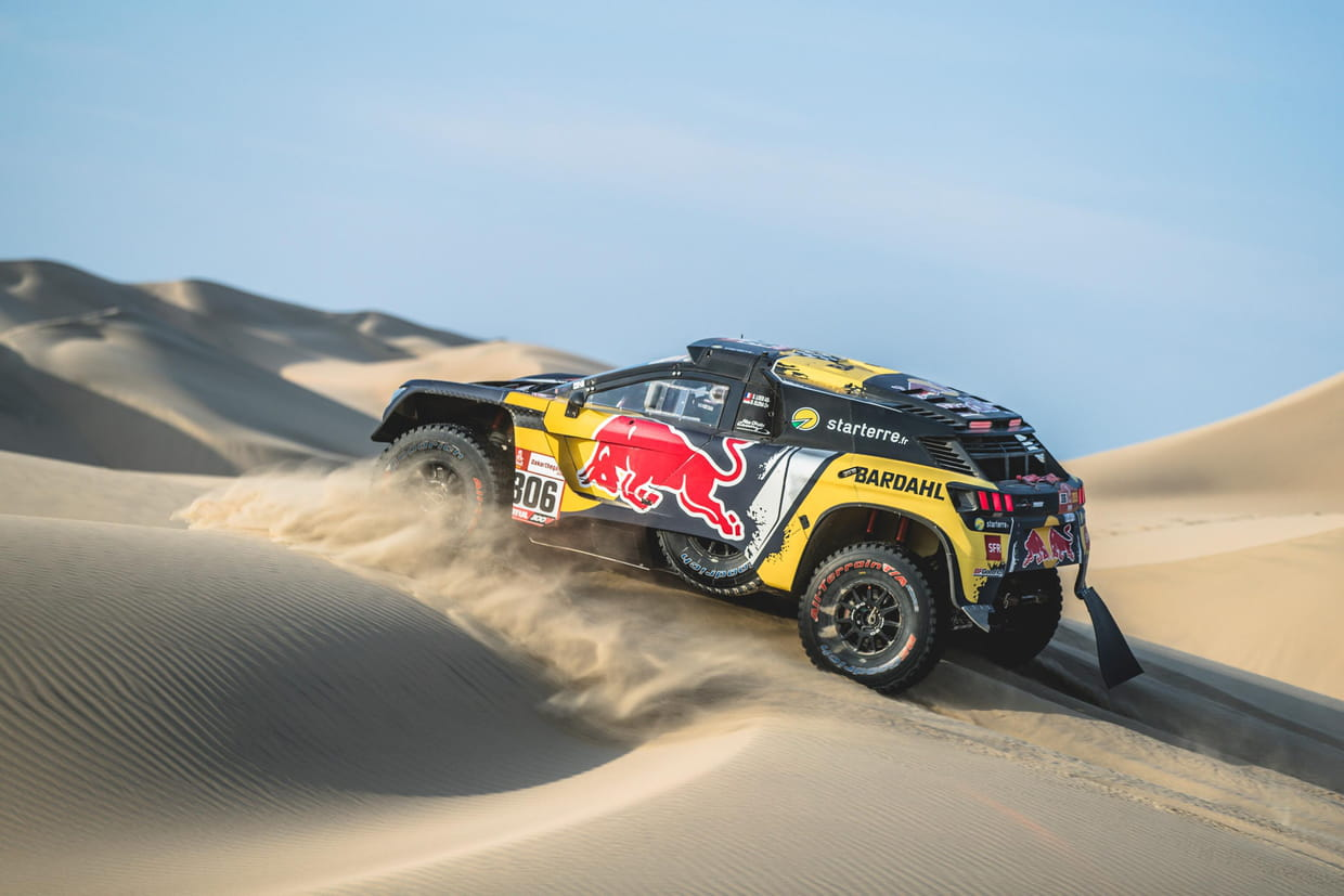 dakar 2019 la 3e tape en direct loeb ouvre la piste classement. Black Bedroom Furniture Sets. Home Design Ideas