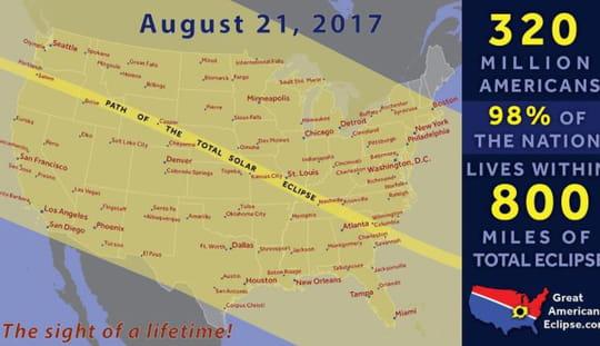 Eclipse solaire: pourquoi l'éclipse totale d'août est très attendue