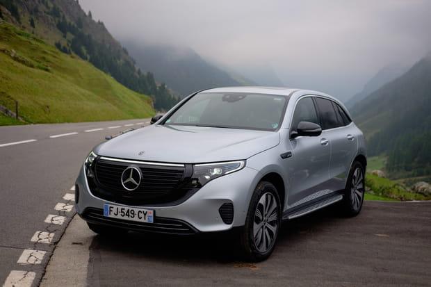 Essai du Mercedes EQC: l'étoile se lance dans l'électrique