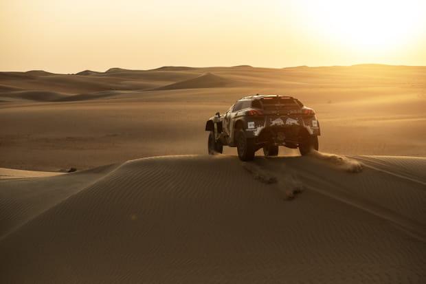 Un parcours en majorité constitué de dunes