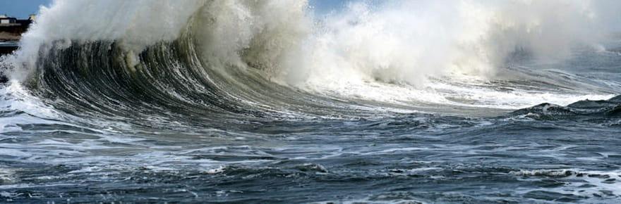 Grandes marées : les images les plus spectaculaires du week-end