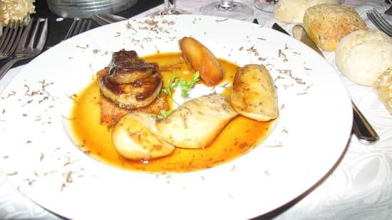 Le Relais de la Croix d'Or  - quel délice ce foie gras -   © mcd