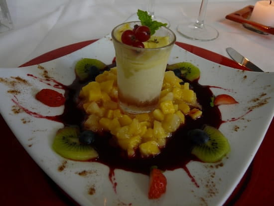 Le Galopin Gastronome  - Tartare de mangues et son sorbet maison -
