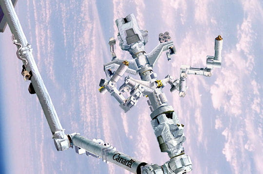 Le robot Dextre