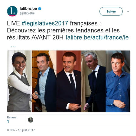 rtbf elections francaises resultats