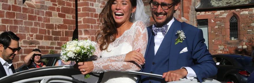 Le mariage de Thomas Hollande et Emilie Broussouloux en images