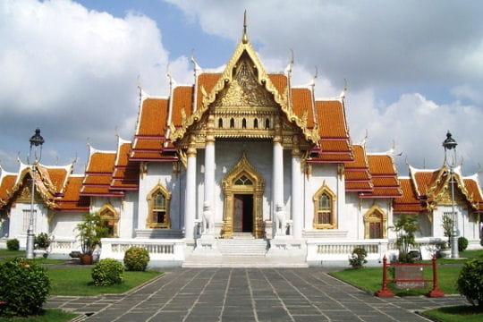 Le temple de marbre de Bangkok