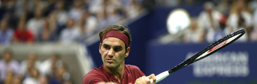 US Open: Paire défie Federer