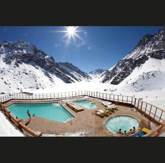 Ski Portillo au Chili