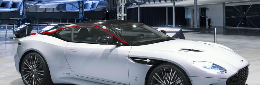 Aston Martin DBS Superleggera: une version hommage au Concorde présentée