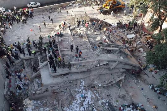Séisme au Mexique: photos et vidéos choc après le tremblement de terre