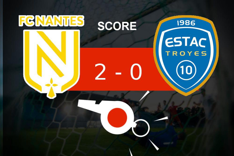 Nantes - Troyes: jolie opération pour le FC Nantes, le résumé du match