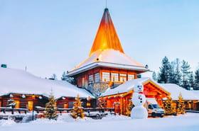 Visite virtuelle du village du Père Noël