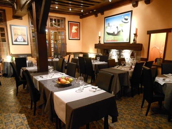 L'Ecu de France  - Le Restaurant -   © Ecu de France