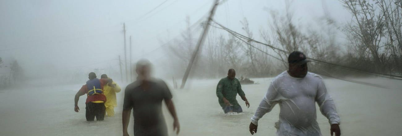 Les images les plus impressionnantes de l'ouragan Dorian