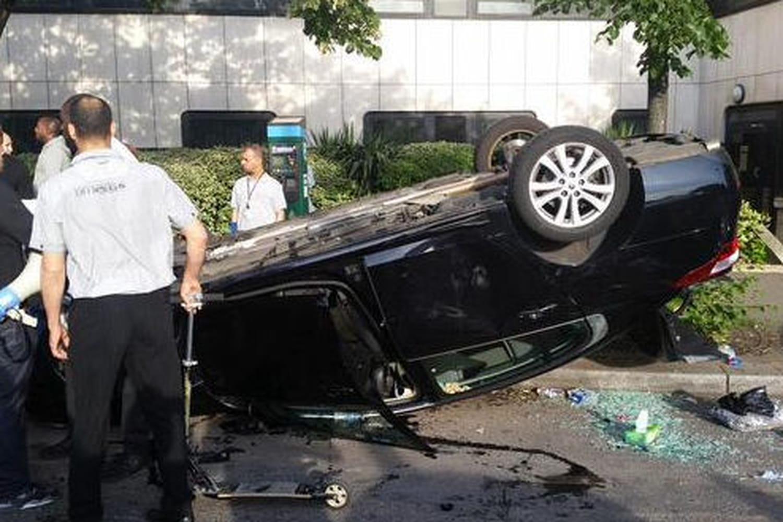 Taxis : les images des incidents àParis porte Maillot [PHOTOS|VIDEO]