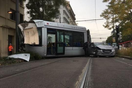 Accident de tramway à Lyon: pas de blessés graves, le trafic va reprendre