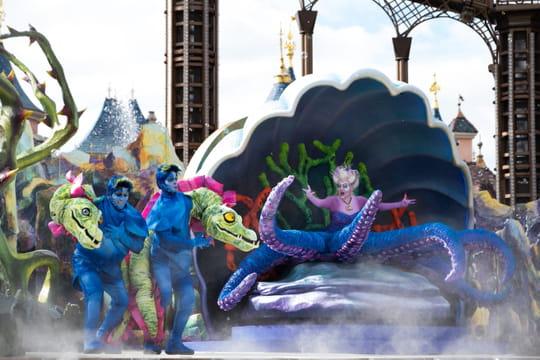 Disneyland Paris: un nouveau spectacle avec Ursula pour Halloween!