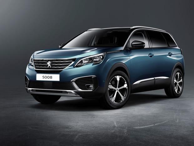 Le nouveau Peugeot 5008 en images