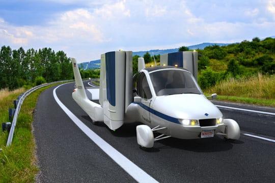 La voiture volante: un rêve devenu réalité