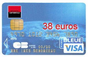 Carte Visa Classic Societe Generale.23e Ex Aequo Societe Generale Avec Une Visa Classic A 38 Euros