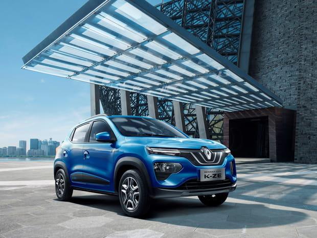 Le Renault City K-Ze en photos