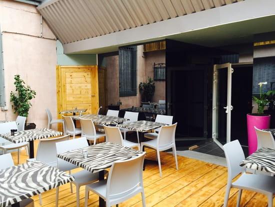 Restaurant : Restaurant le grill  - Terrasse -