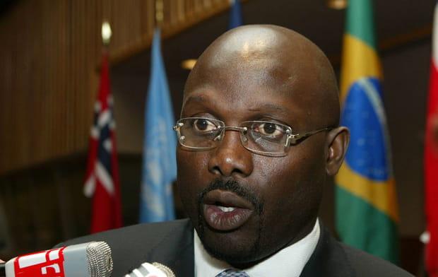 George Weah, présient de la République du Liberia