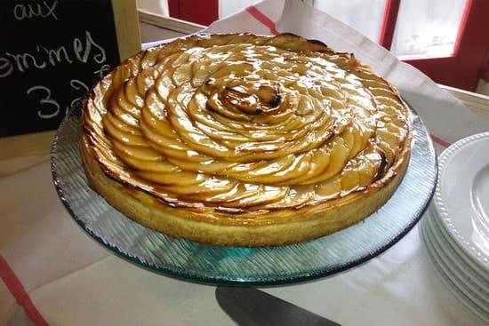 Le Bistrot  - Tarte aux pommes -   © Le Bistrot