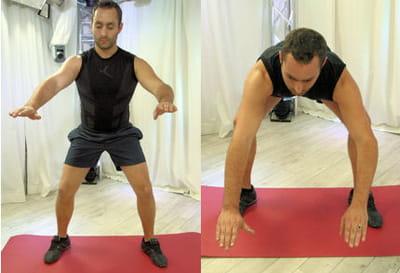 pour cet exercice, adoptez un rythme lent, et petit à petit tenez plus longtemps