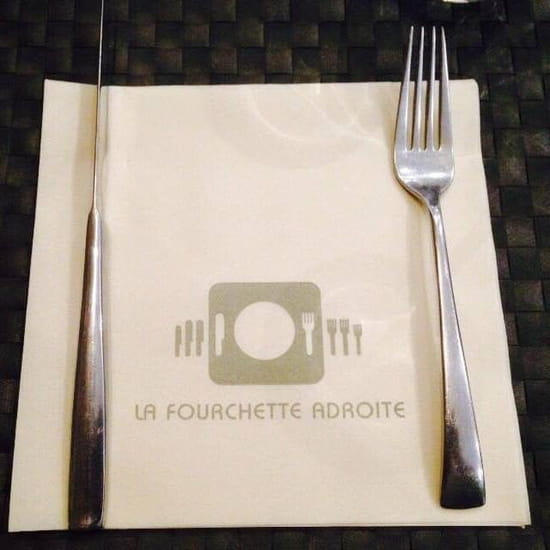 Restaurant La  Fourchette Adroite