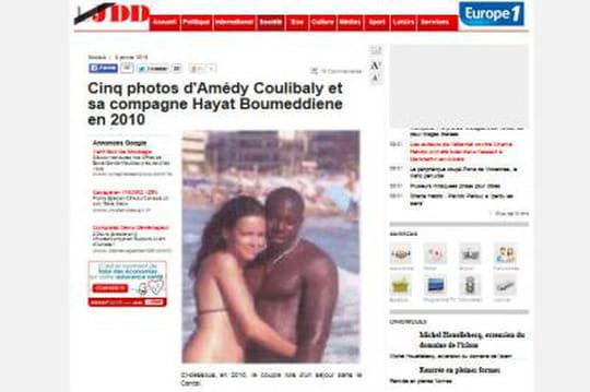 Hayat Boumeddiene: leJDD publie desphotos d'elle enbikini