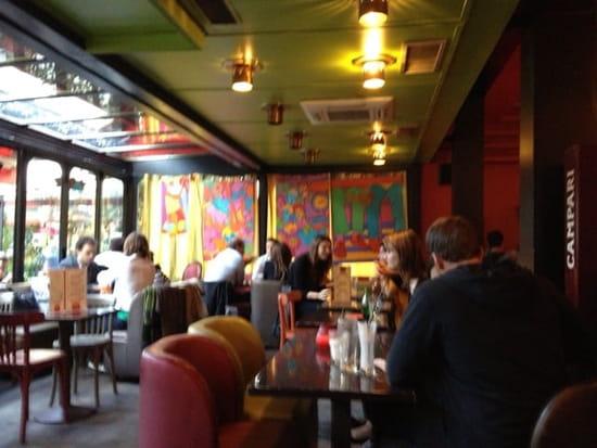 Restaurant : Dupont Café  - Ambiance au Dupont Café Paris XVème. -
